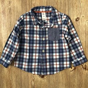 Oshkosh button down shirt 18 months